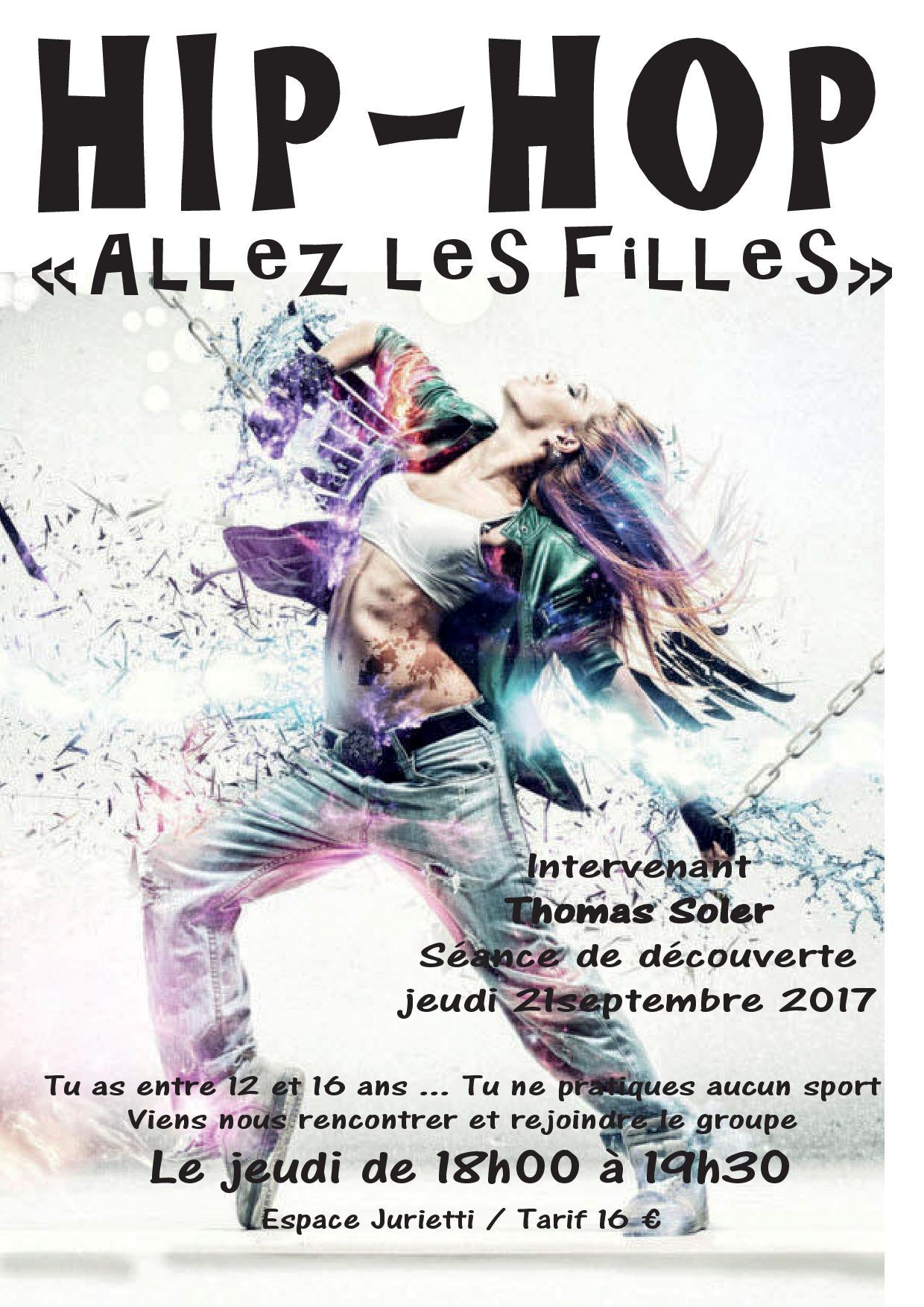 AFFICHE 2017 ALLEZ LES FILLES HIP HOP.indd